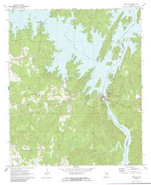 Red Hill topo map