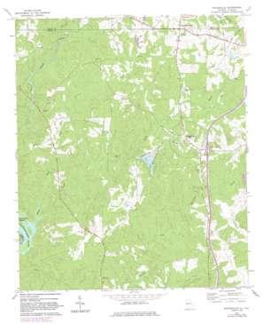 Whitesville topo map