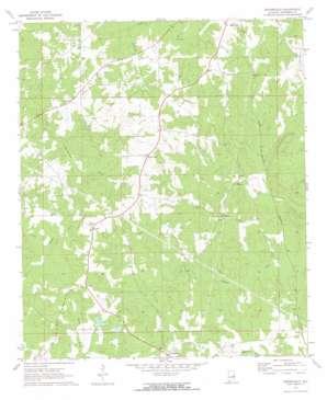 Moorefield topo map