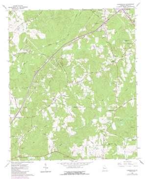 Cannonville topo map