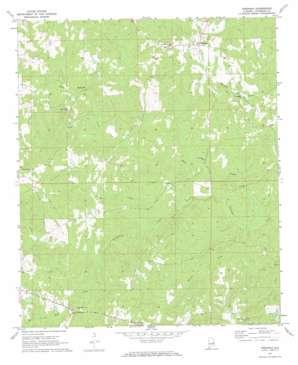 Fredonia topo map