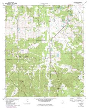 Sellers topo map