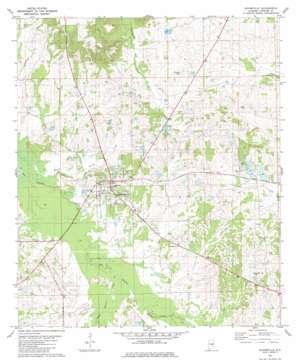 Hayneville USGS topographic map 32086b5