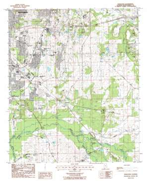 Barachias topo map