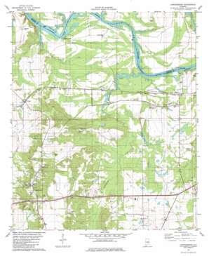 Lowndesboro topo map