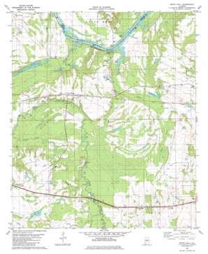 White Hall topo map