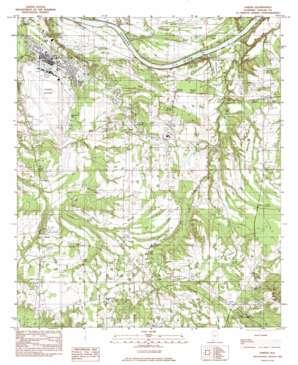 Sardis topo map