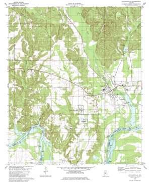 Autaugaville USGS topographic map 32086d6