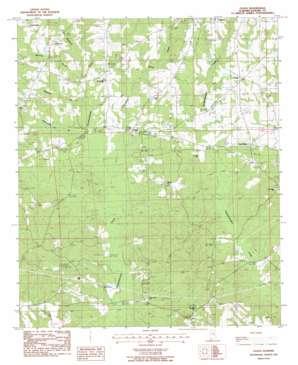 Claud topo map