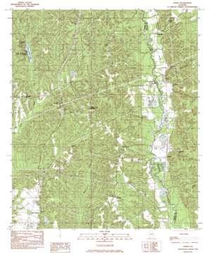 Jones topo map