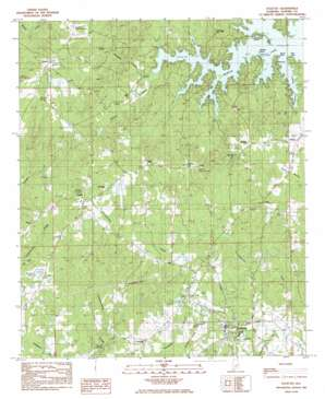 Eclectic topo map