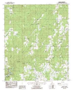 Dexter USGS topographic map 32086f2