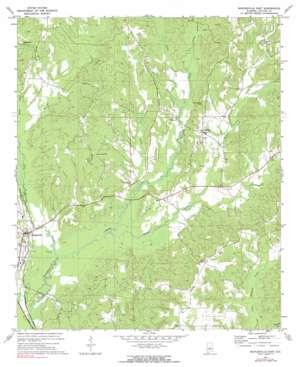 Maplesville East USGS topographic map 32086g7