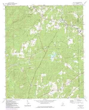 Kellyton topo map