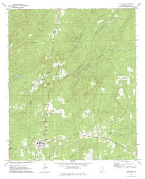 Rockford topo map