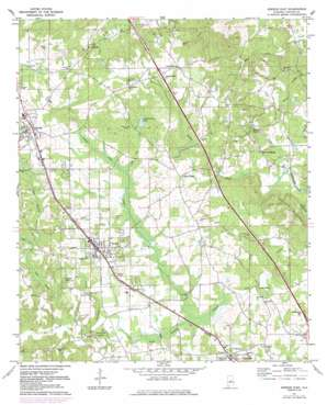 Jemison East topo map