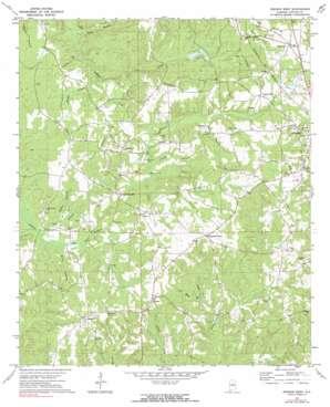 Jemison West USGS topographic map 32086h7