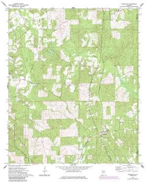Randolph topo map