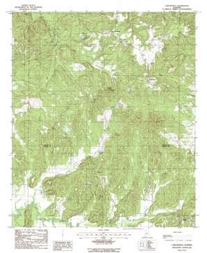 Carlowville topo map