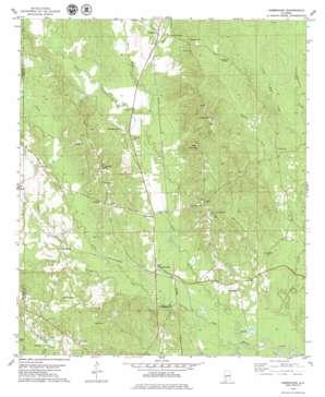Kimbrough topo map