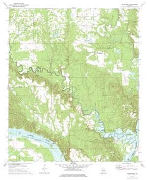 Crumptonia USGS topographic map 32087b3