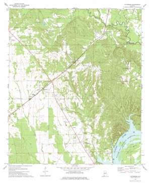 Catherine topo map