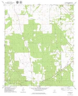 Flatwood topo map