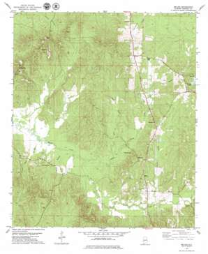 Miller topo map