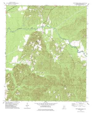Myrtlewood South topo map
