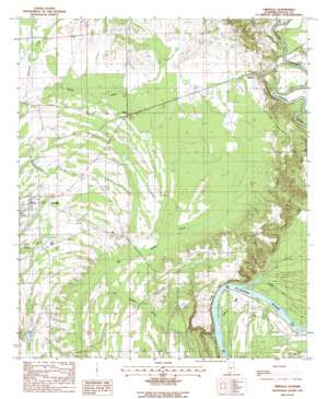 Orrville topo map