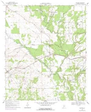 Safford topo map