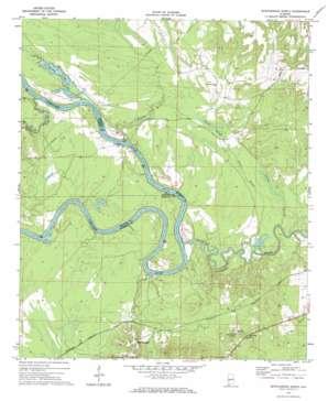 Myrtlewood North USGS topographic map 32087c8