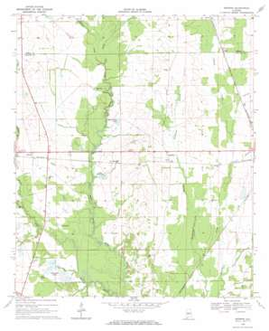 Browns topo map