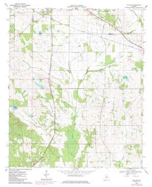 Gallion topo map