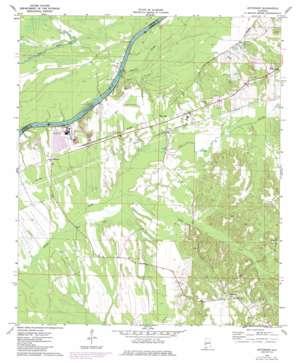 Jefferson topo map