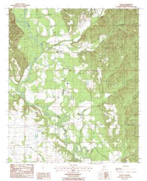 Suttle topo map