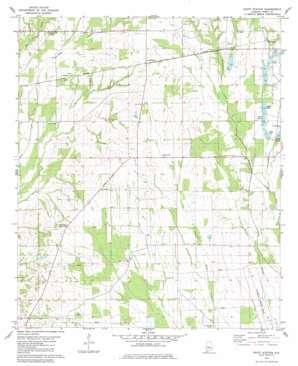 Scott Station topo map