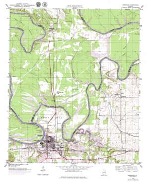 Demopolis topo map