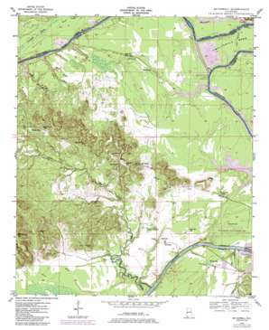 Mcdowell topo map