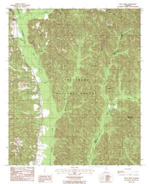 Buck Creek topo map
