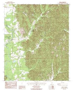 Sprott topo map