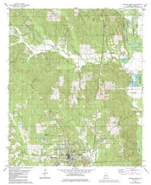 Marion North topo map