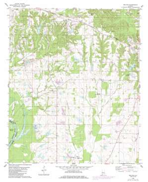 Melton topo map