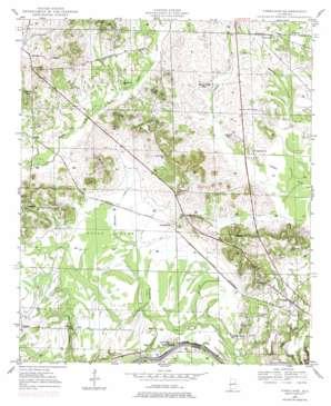 Forkland topo map