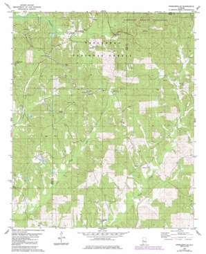 Hogglesville topo map