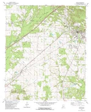 Eutaw USGS topographic map 32087g8