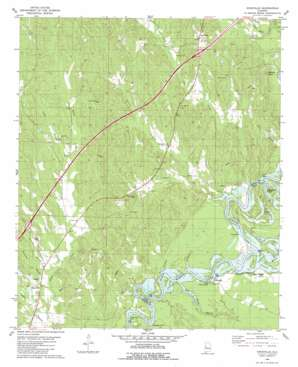 Knoxville topo map