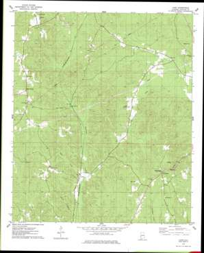 Land topo map