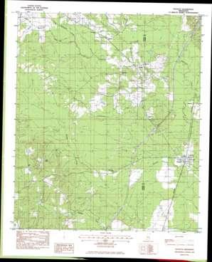 Pachuta USGS topographic map 32088a8