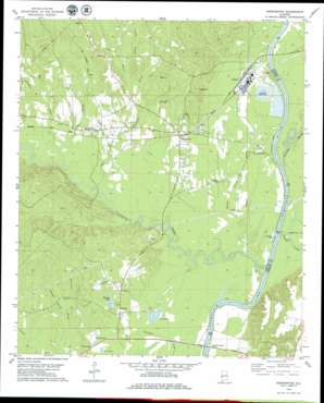 Pennington USGS topographic map 32088b1